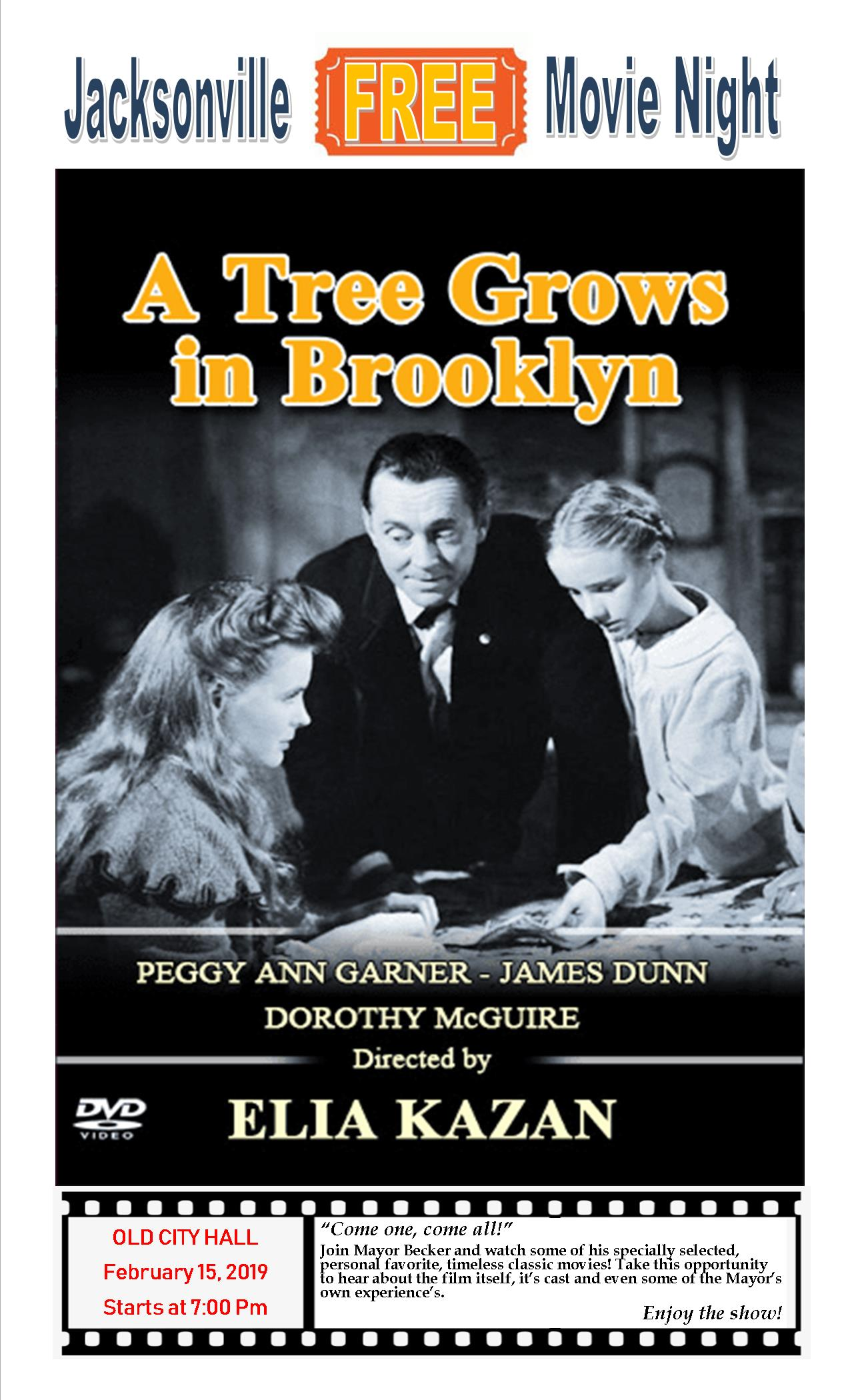 MOVIE a tree grows in brooklyn poster