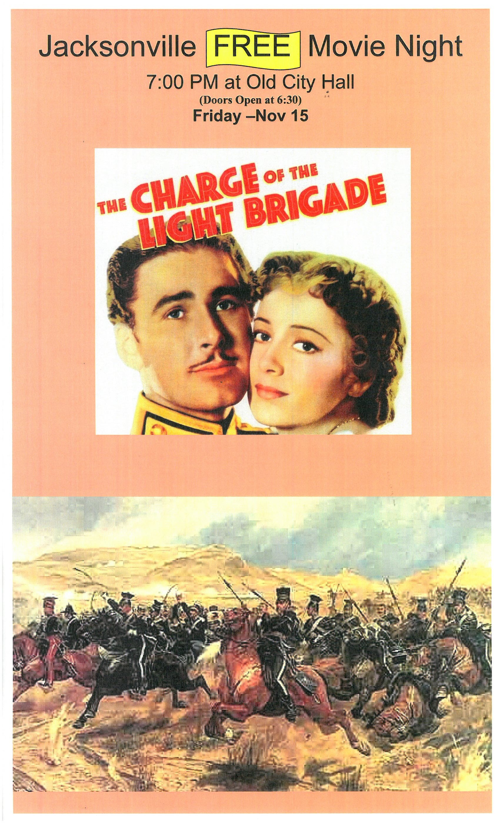 Movie The Charge of the Light Brigade 11 15 19